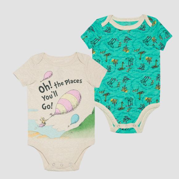 Dr Seuss One Pieces New Baby Boy Clothes Newborn Bodysuits Poshmark